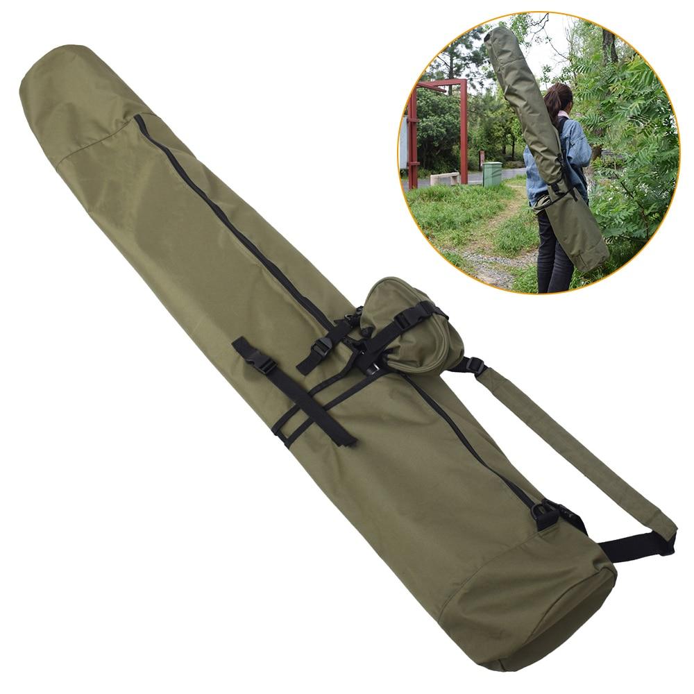 Carpe canne à pêche housse sac canne à pêche sac multifonctionnel canne à pêche étui de protection sac de rangement transporteur sac à dos pour la pêche