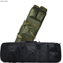 Outdoor Military Hunting Shooting Bag Nylon 81CM Tactical Bag Square Carry Gun Bag Hand Gun Accessory Protection Case Backpack