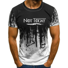 2019 Men NOTTODAY Printed Short Sleeves Camouflage Tops T Shirt Plus Size S-4XL