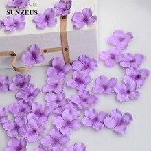 4.5CM fleur fille pétales artificielle Rose pétales polyester tissu mariage pétales fête décoration soirée fleurs accessoires SJ007