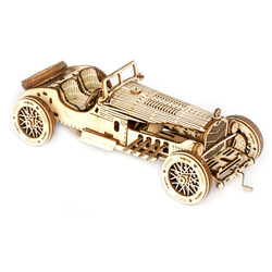 ROBOTIME DIY Assembly Handmade 3D Wooden Puzzle Model Car Brain-Training Toy For Children Kids Educational Toys Birthday Gift