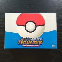Такара Томи Покемон 200 флэш-карты Солнца и Луны тег команды 194 GX в 6 коллекциях блестящий тренер карточная настольная игра детские игрушки