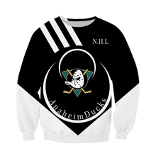 Anaheim duck NHL ice hockey sweater sweatshirt men and women original design Harajuku wind hoodie