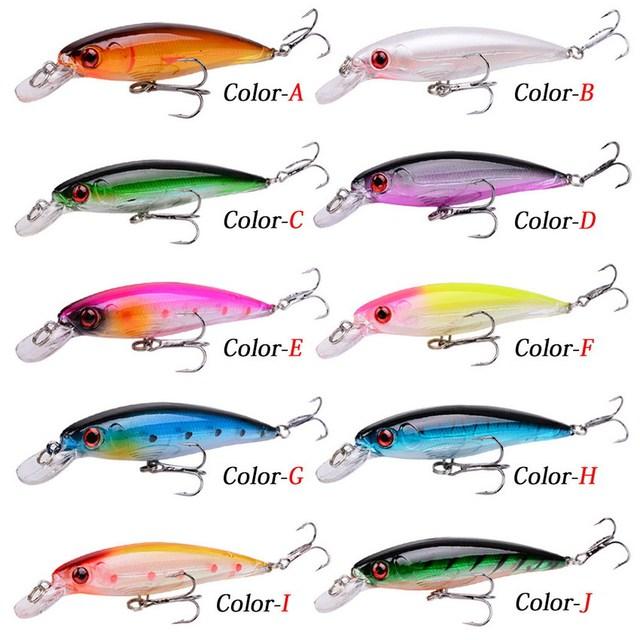 1PCS Laser Minnow Fishing Lure 11CM 13G pesca hooks fish wobbler tackle crankbait artificial japan hard bait swimbait fishing wobblers hard baitlaser minnow -