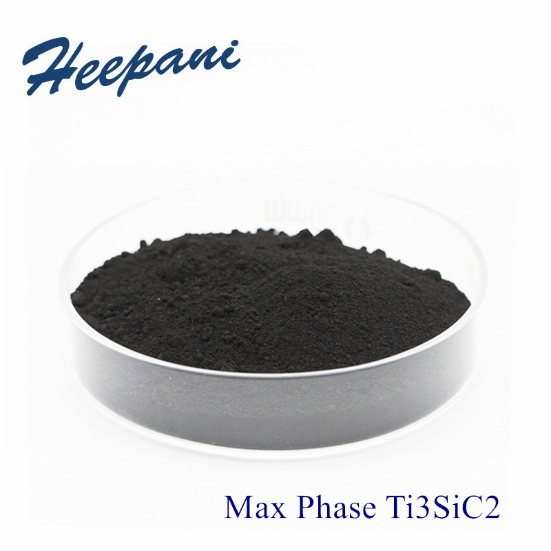 Free Shipping High Purity MAX Phase Ti3SiC2 Powder 200mesh - 500mesh Advanced Ceramic Titanium Silicon Carbide For Mxene Ti3C2