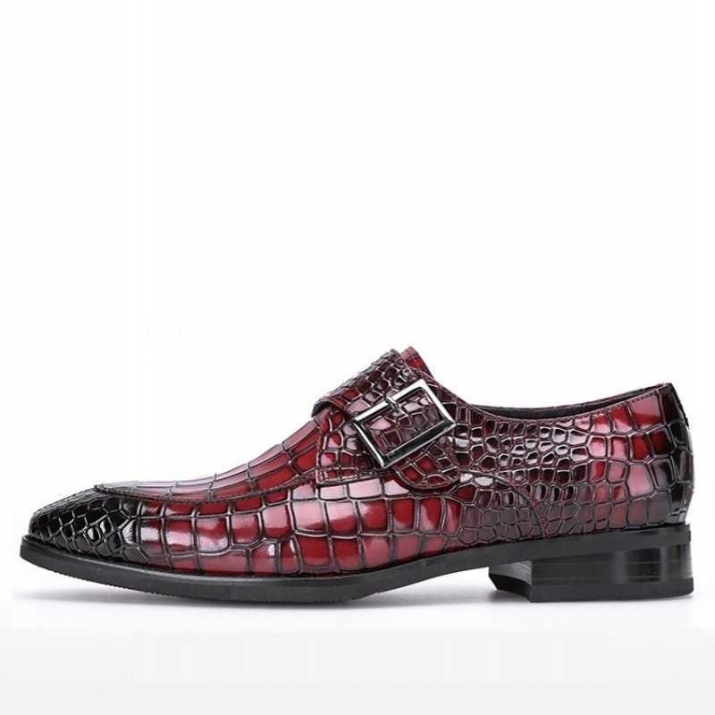 Marca dos homens sapatos formais couro genuíno oxford sapatos de negócios mans calçado apontou toe vinho britânico vermelho sapatos de casamento vestido