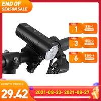 ASTROLUX-Conjunto de luces de bicicleta BL02, 1200LM, soporte de iluminación frontal para exteriores, autodefensa, recargable, 18650, 5000mah, Banco de energía
