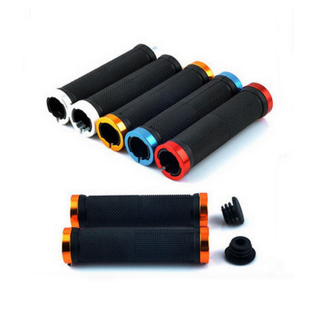 1 pair High quality <font><b>Bike</b></font> Bicycle Handlebar Cover Grips Smooth Soft <font><b>Rubber</b></font> Handlebar cover handle <font><b>bar</b></font> <font><b>end</b></font> <font><b>Bike</b></font> <font><b>Bar</b></font> Handles image