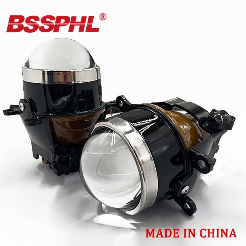 BSSPHL Car HID Bi-xenon Fog Lights Projector Lens Driving Lamps Retrofit For HONDA /MITSUBISHI/NISSAN/OPEL/PEUGEOT/RENAULT