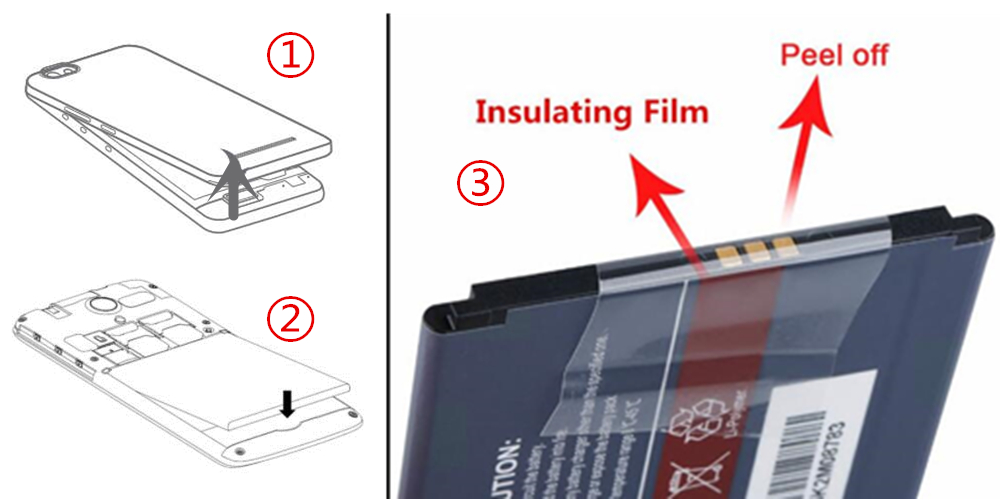 Peeling insulating Film operation