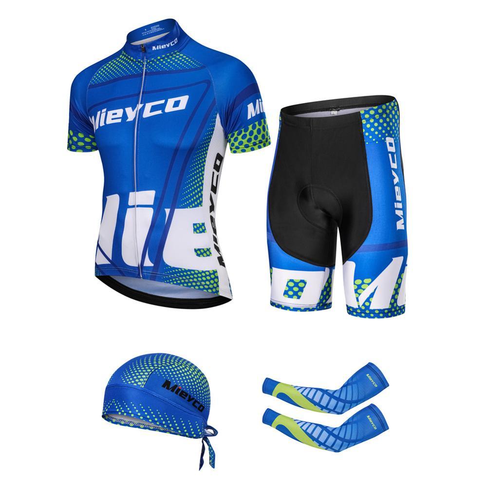 Vêtements de cyclisme homme maillot de cyclisme 2019 été hommes ensemble vélo vêtements à manches courtes maillot ciclismo vélo vêtements tenue