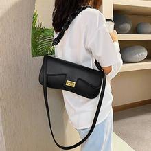 Маленькие сумки подушки с клапаном для женщин 2020 однотонный