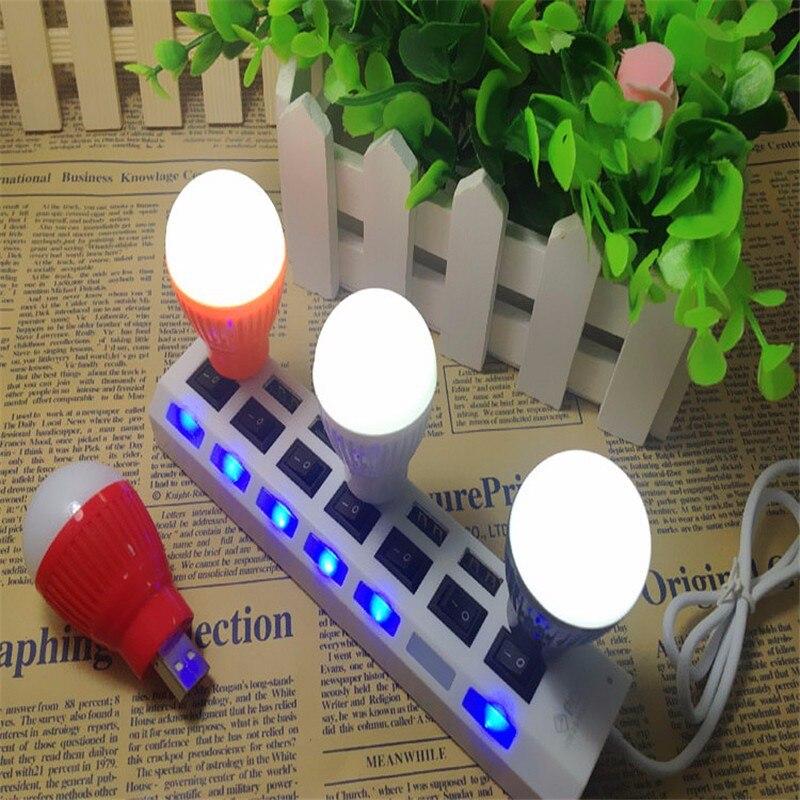 Portable Saving Energy USB Light Mini USB LED Lamp For Laptop PC Power Bank Bulb Computer Peripheral USB Gadgets