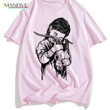 Satan T Shirt Men/women Lucifer Demon Death Scary Evil Satanism Grim Reaper Baphomet T-shirt Satanist Tshirt Male/female Top Tee