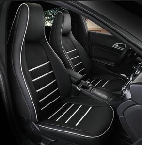 2 шт., кожаный чехол на переднее сиденье автомобиля для Mercedes-Benz gla200 gla260 cla200 cla 220 cla260 A 180 A200, автомобильные аксессуары, Стайлинг автомобиля