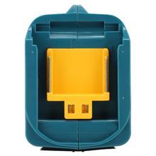 Cabeça do conversor para makita usb conversor cabeça para adp05 14.4/18 v bateria de lítio usb reconhecimento inteligente