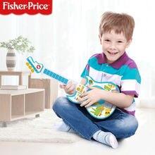 Фишер Прайс многофункциональная детская электронная гитара бас