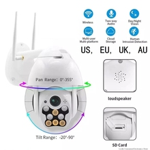HD 1080P 2Mega mini 360 Degree Wireless Cloud Platform Outdoor Waterproof Camera Security Network Wifi Hd Surveillance
