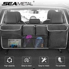 Tylne siedzenie samochodu organizator bagażnika kieszenie tylne siedzenie samochodu przechowywanie z tyłu torba Auto wiszące siedzenie przechowywanie z tyłu pudełko uniwersalne oszczędzanie miejsca
