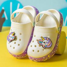 Crianças sapatos tamancos 2020 verão crianças chinelo meninos sandálias flip flops anti deslizamento macio eva chinelo moda sandálias de praia crianças