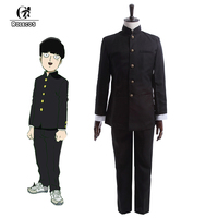 ROLECOS Anime Mob Psycho 100 Cosplay Costume Kageyama Shigeo Cosplay Costume Japanese School Boy Uniform Jacket Pants Full Set