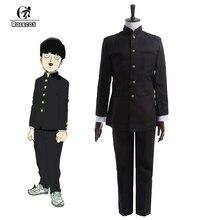 ROLECOS Anime Psycho 100 ชุดคอสเพลย์ Kageyama Shigeo คอสเพลย์ญี่ปุ่นโรงเรียนเด็กชุดเสื้อกางเกงชุด