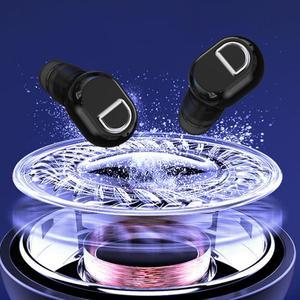Миниатюрные высококачественные наушники-вкладыши из АБС-пластика, Bluetooth 5,0, водонепроницаемые, с шумоподавлением, деловые спортивные наушники-вкладыши с микрофоном