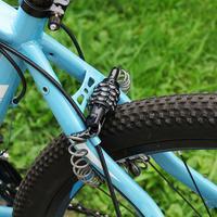 오토바이 헬멧 잠금 텔레스코픽 케이블 도난 방지 4 자리 비밀 번호 조합 자전거 케이블 자전거 조합 잠금