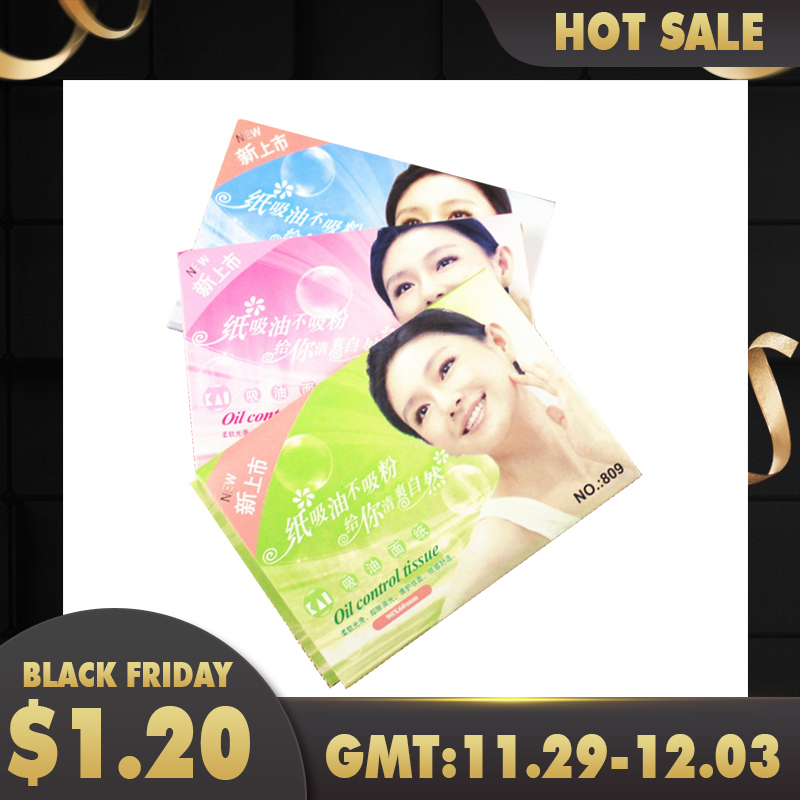 50 Sheets Pro Powerful Makeup Oil Absorbing Face Paper wholesale Free Shipping Women Skin Care N041