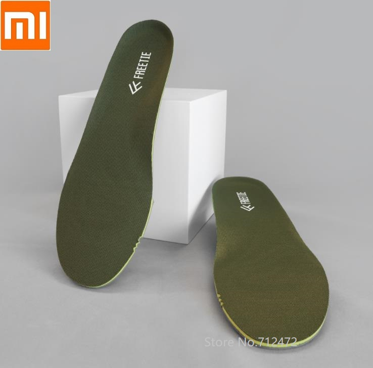 Xiaomi Men FREETIE Thickening Sponge Breathable Insole Soft Damping Anti-slip Inserts Insole