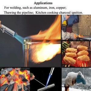 Image 3 - โพรเพนเหลวแก๊สจุดระเบิดอิเล็กทรอนิกส์ปืนเชื่อมไฟฉายเครื่องอุปกรณ์ 2.5M ท่อสำหรับบัดกรีเชื่อมทำอาหารความร้อน