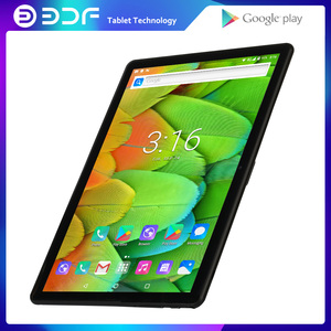 BDF 10 Inch Android Tablets Pc Android 4.4 Mobile Phone Call Tablets Pc Quad Core Dual Camera 1GB RAM + 16GB ROM