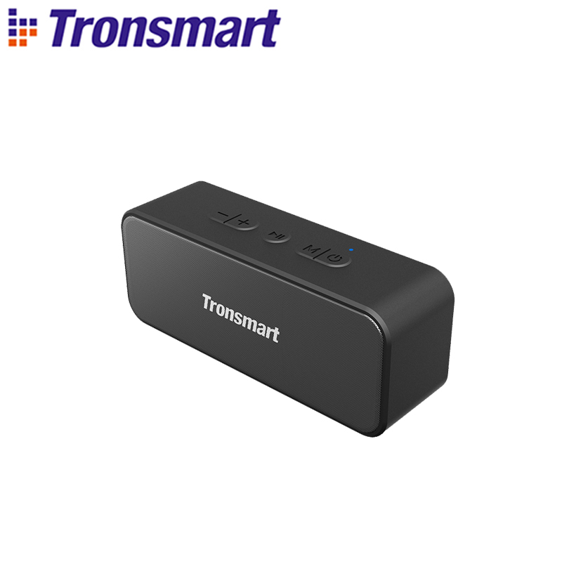 Портативная колонка Tronsmart T2 Plus IPX7, Bluetooth Колонка TWS, колонка 20 Вт, звуковая панель с голосовым помощником, Micro SD        АлиЭкспресс