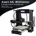 Набор 3D-принтеров Anet A6L A8 большой размер 220*220*250 мм/220*220*240 мм большой размер печатная кровать с нитями + 8G/16G sd-карта + Инструменты