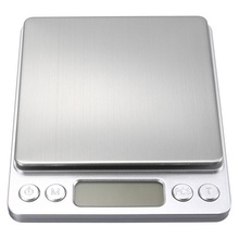 1000g X 0.1g Portable Mini Electronic Digital Scales Pocket Case Postal Jewelry Weight Kitchen Food Weighing Scale with 2 Tray
