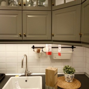 Image 5 - Luz de cozinha expert dc12v 5050 led barra tira rígida dura + u alumínio + cobertura plana cozinha tira luz 5 pçs leitoso 50 cm