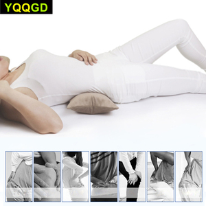 Image 4 - MultifunctionalแบบพกพาAir InflatableหมอนสำหรับLower Back Pain,Orthopedic Lumbar Support Cushion