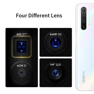 Image 5 - 100% Original Global Version Realme X3 MobilePhone 6.6 inch 120Hz Snapdragon 855 Plus Octa Core 60X Super Zoom NFC Russia Versio