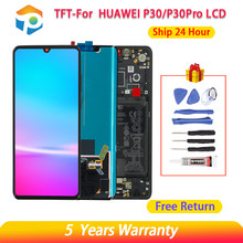 P30 p30pro lcd para huawei p30 pro VOG-L09 l29 tl00 lcd dsplay digitador da tela de toque peças para huawei p30 ELE-L29 l09 al00 tft