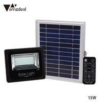 Hot Solar Flood Light 10W 32LED Intelligent Remote Control Solar Projector IP66 Waterproof New Energy Lighting With Solar Panels