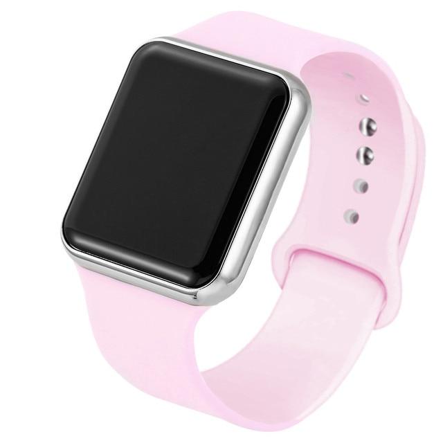Fashion Unisex Silicone Watchband LED Digital Sport Women's Watches Men's Wristwatch relogio feminino digital reloj 6