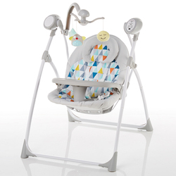 baby rocking chair baby electric rocking chair to appease the cradle bed Childrens dining chair rocking chair with remote cont