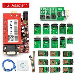 Image 4 - UPA Usb con 1.3 adattatore eeprom ECU Programmatore di Diagnostica strumento di UPA USB ECU Programmatore UPA USB V1.3 Con Adattatore Completo UPA