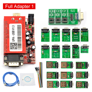 Image 4 - UPA Usb with 1.3 eeprom adapter ECU Programmer Diagnostic tool UPA USB ECU Programmer UPA USB V1.3 With Full Adapter UPA