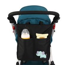 Bolsa de maternidad para cochecito de bebé y madre lactante, organizador de accesorios para silla de bebé, bolsas de pañales de diseño cambiantes, bolso de mano para la mamá