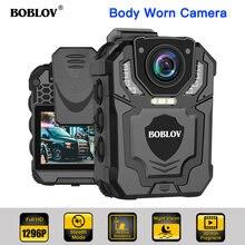 Нательная камера boblov носимый полицейский видеорегистратор