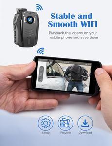 Image 2 - BOBLOV – caméra corporelle WiFi 1296P, portable, Vision nocturne, mémoire intégrée