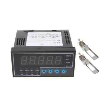 цена на Load Cell Indicator Digital Display Weighing Transducer Trasmitter Weight Sensor Weighing Instrument 2 Way Output