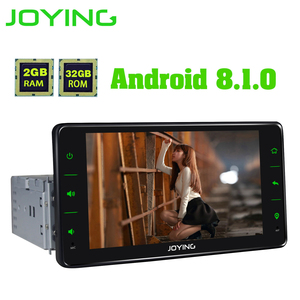 Image 4 - Joying ユニバーサル Android のカーラジオシングル 1 喧騒車のマルチメディアプレーヤー 6.2 インチ 2 グラム Ram ビデオヘッドユニット Carplay 無線 LAN Bluetooth DVR