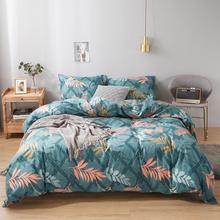 цены Boho Comforter Cover Botanical Flowers Print Quilt Cover Leaf Bedding Set for Kids Home Decorative Duvet Cover Set Bed Cover